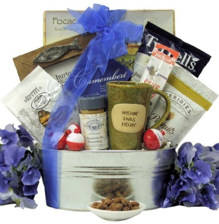 Great Arrivals Fishing Gift Basket, Gone Fishing by GreatArrivals Gift Baskets -- Awesome products selected by Anna Churchill