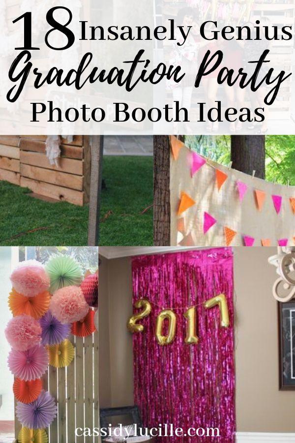 18 Instagram Worthy Graduation Party Photo Booth Ideas | Graduation