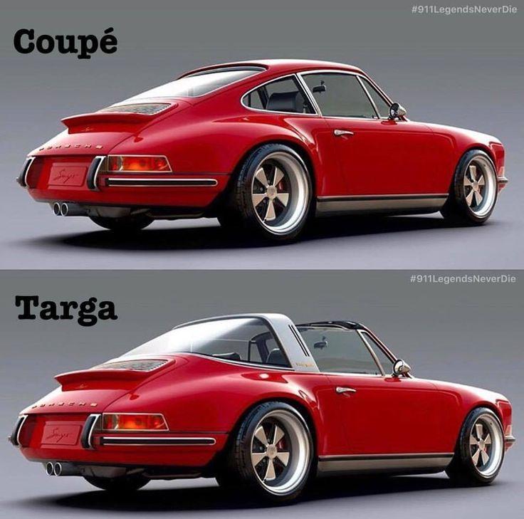 What A Choiceu2026 Singer Coupé Singer Targa What Is Your Favorite ♂ ♀️