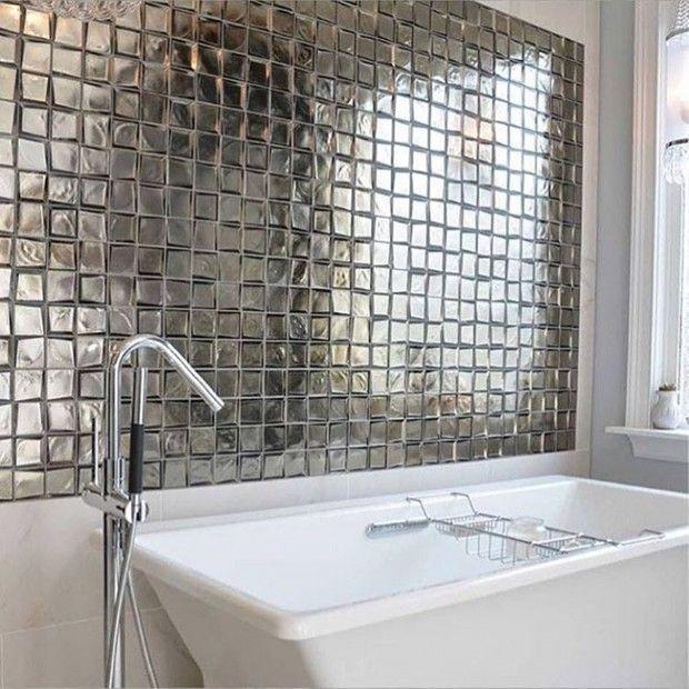 Glass Tile Bathroom Wall Ideas Amazing Ideas