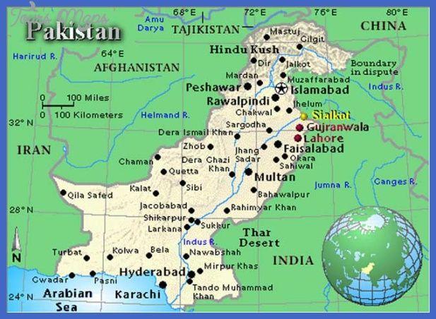 nice Pakistan Map