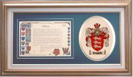 $109.99 Coughlin Family Name History and Coat of Arms / Family Crest