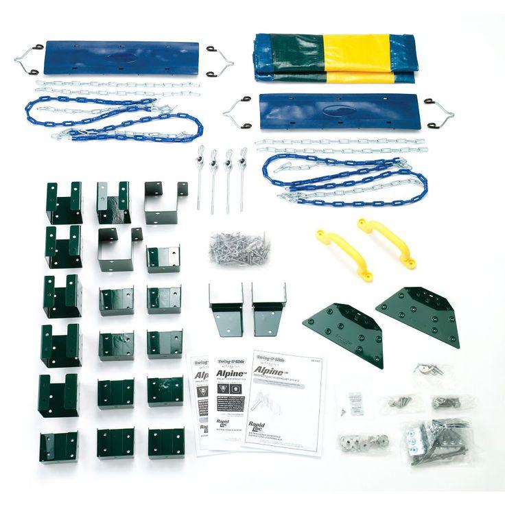 Alpine custom doityourself play set swing set kits