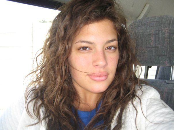 Model Ashley Graham's husband prefers her without any make-up on, which is why she was not fazed when she had to go bare faced on the ramp.