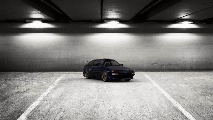 Toyota AE86 1985 Tantra Edition