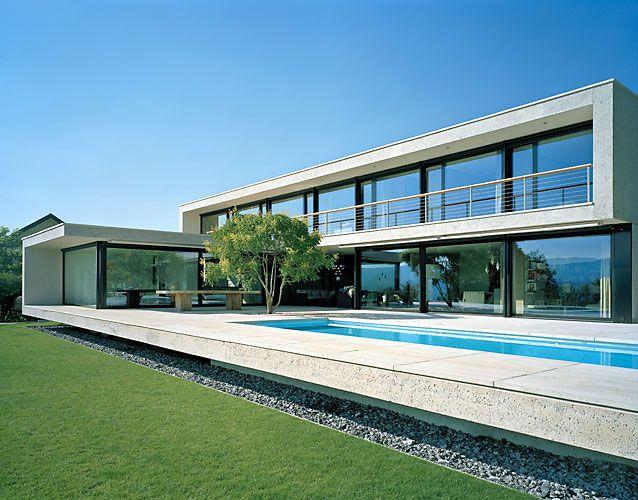 Private House in Erlenbach by Wild Bär Heule architekten _
