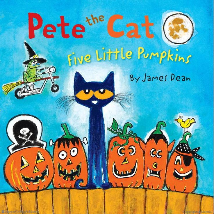 Pete the cat and the five little pumpkins by James Dean