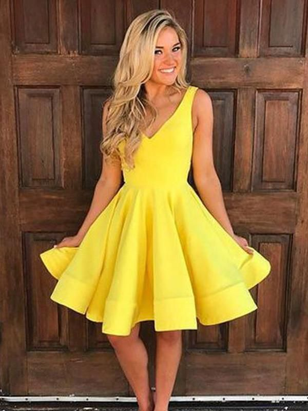 Yellow Prom Dresses Under $100