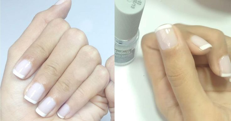 Vídeo: la forma más fácil de hacer uñas francesas paso a paso