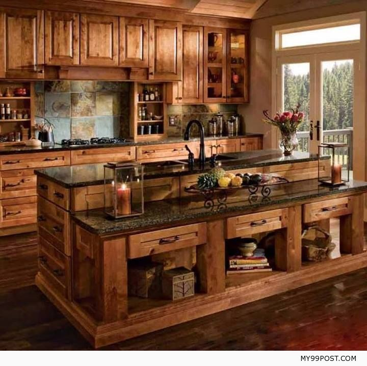 Rustic Kitchen Styles best 25+ knotty alder kitchen ideas on pinterest | rustic cabinets