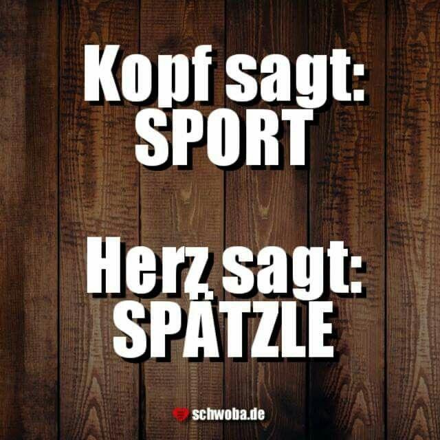 Isch so! #kopf #herz #sport #spätzle #schwäbisch #schwaben #schwoba #württemberg