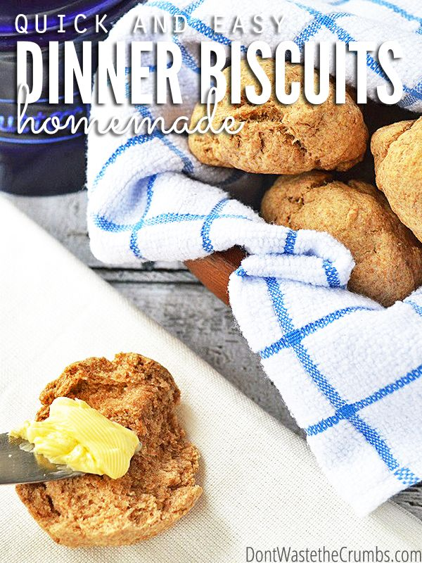 When you're looking for a quick & simple biscuit recipe, this recipe for easy homemade dinner biscuits is a winner. Extra butter & extra salt mean extra yum!