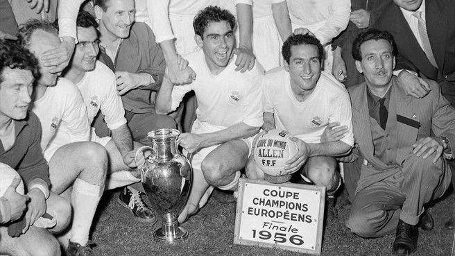 Real Madrid won the first European Cup . Season 1955-56.