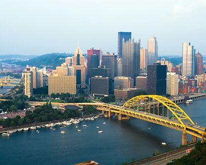 yellow bridges.
