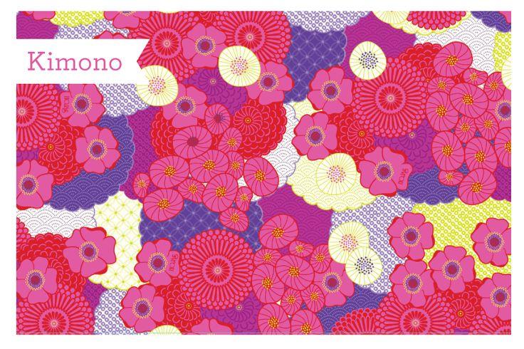 Kimono: Flores que evocan la tradición de los Kimonos Japoneses Compra en: www.hojas.com.co #Kimono #NuevaColección #Hojas2015