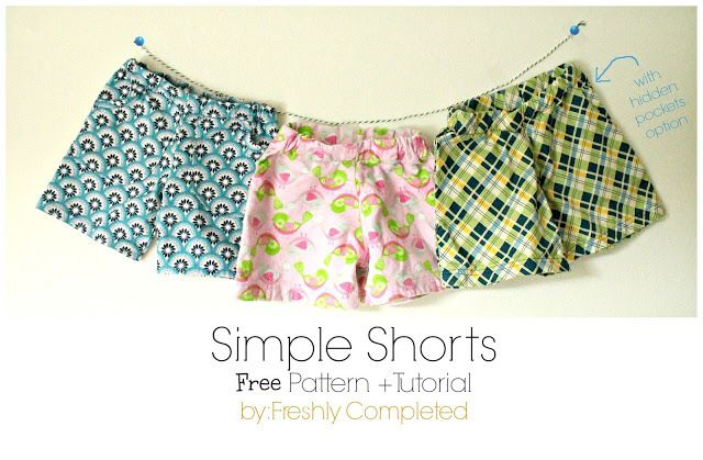 short facile - tuto gratuit - DIY - tutolibre