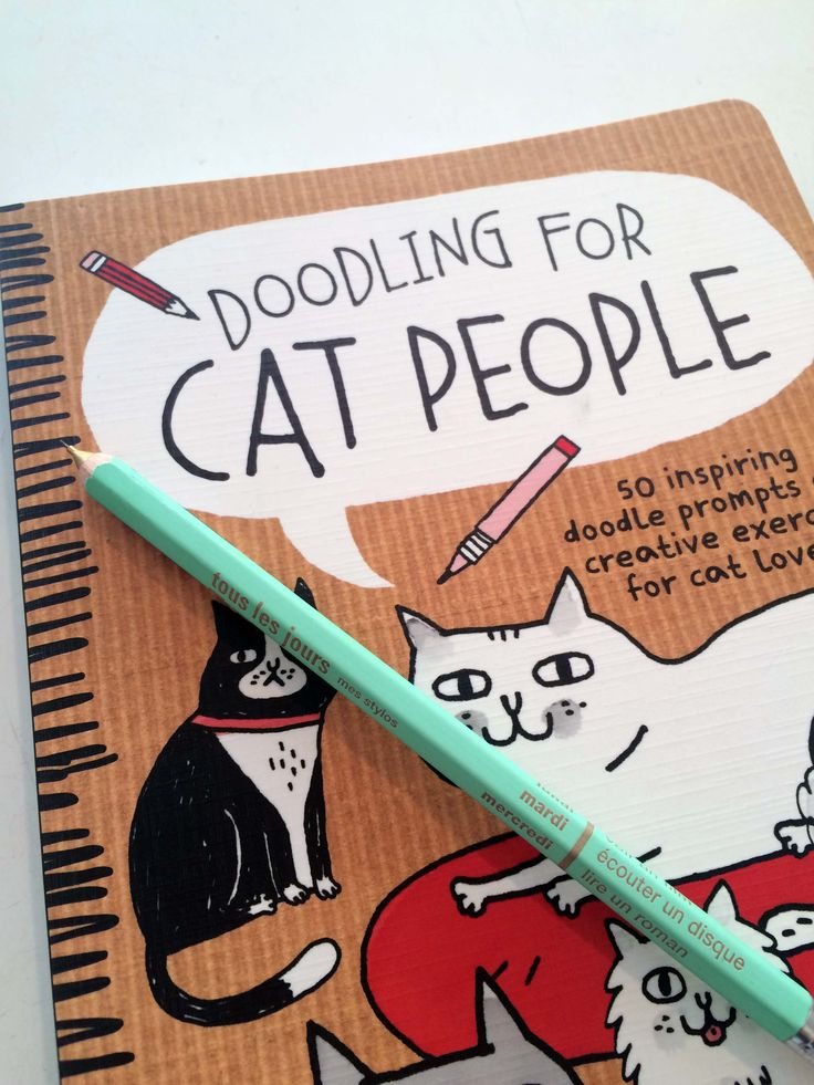 Doodling for Cat People // A wonderful cat lovers creation by Gemma Correll