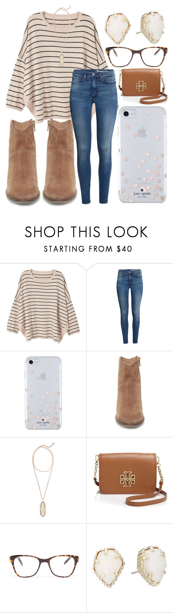 """""""Black Friday """" by jadenriley21 ❤ liked on Polyvore featuring MANGO, H&M, Kate Spade, Steve Madden, Kendra Scott, Tory Burch and Prism"""