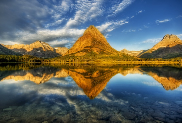 Glacier National Park--been there. Would love to go again!