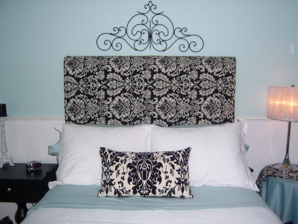 Tiffany Blue Bedroom Decorating Ideas | ... Guest Room Repost, Black And  White