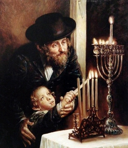 Hebrews - History, Art and Jewish symbols channukah ...
