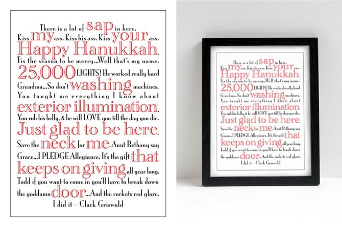 Free Christmas Printables With Favorite Movie Quotes: 1000+ Images About National Lampoon's Christmas Vacation