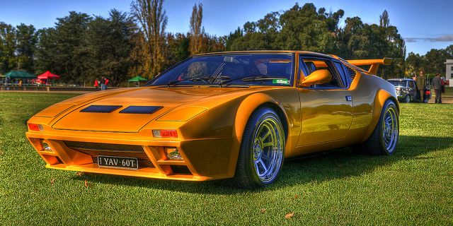 De Tomaso Pantera - Good Old days