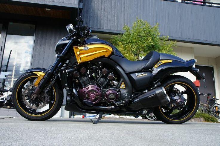 "Planet Japan Blog: Yamaha VMax 2009 ""Midnight Special"""