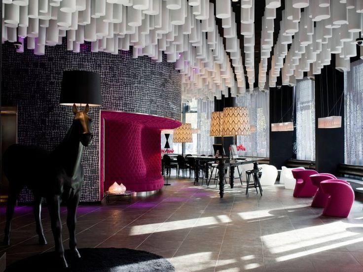 Hotel Barcelona Raval lobby. Amazing!!
