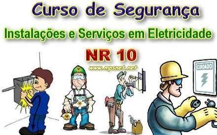 Curso de Segurança em Instalações e Serviços em Eletricidade NR 10, Veja em detalhes no site http://www.mpsnet.net/loja/index.asp?loja=1&link=VerProduto&Produto=523 #cursos