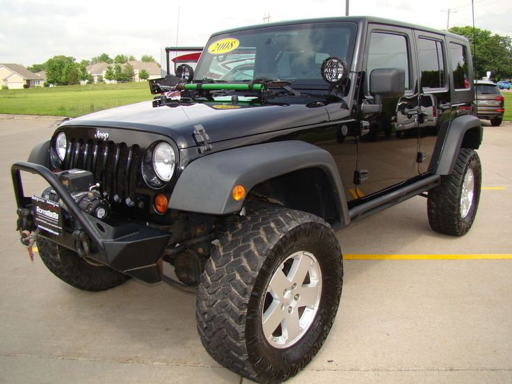 Model/Trim: Wrangler Unlimited X Condition: Pre-Owned. Year: 2008 VIN: 1J4GA39128L648906. Instrumentation-inc: 100 MPH speedometer, tachometer. Next generation Dana 30 solid front axle. 4010 Middle Rd. | eBay!