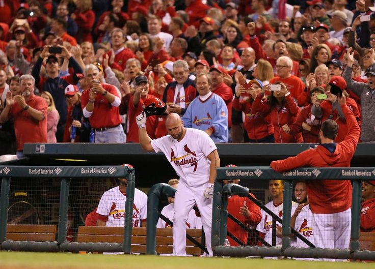 Holliday hits pinch homer in possible farewell St. Louis Cardinals v Pittsburgh Pirates