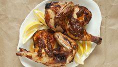 Ψητό κοτόπουλο μαριναρισμένο σε γιαούρτι με μπαχαρικά