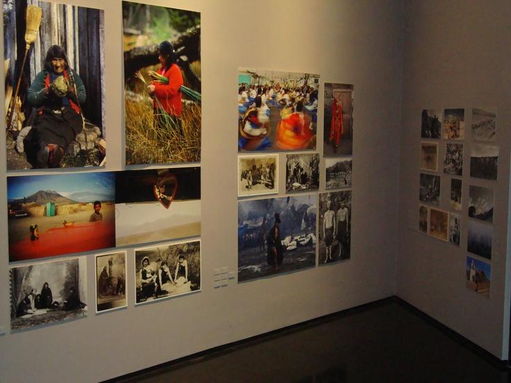 En el Museo de la Memoria, Santiago de Chile. Àrea Pueblos Originarios.