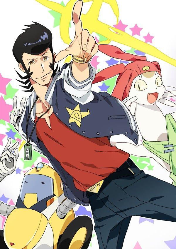 Space Dandy   Shinichiro Watanabe   Anime   Fanart   SailorMeowMeow