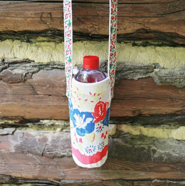 Water Bottle Projects: 82 Best Vintage Tablecloth Projects Crafts Ideas Images On