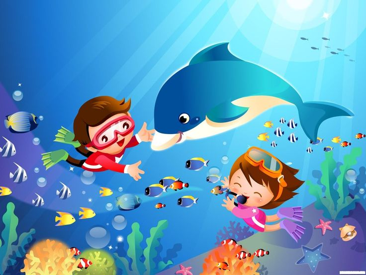 Картинки плавание в детский сад