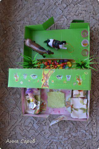 Кукольная жизнь Моделирование конструирование Самодельный кукольный домик с конюшней Бумага фото 5