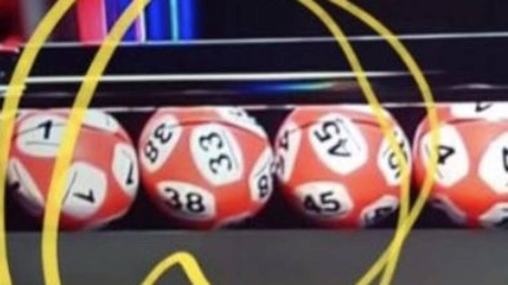Irish lottery draws lucky number 38 - or was that 33? Viewers claim two numbers on Irish lottery ball in a 'trick of the light'