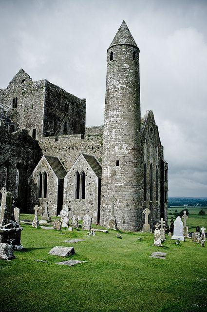 La roca de Cashel, Co Tipperary, Irlanda.