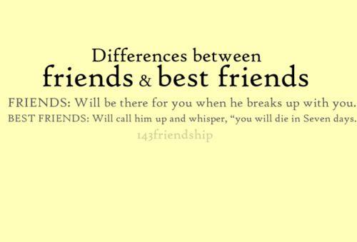 friends vs. best friends: Friends Hilarious, Friends Lmao, Love My Friends, Best Friends, Friends Hahaha, So True, Friends Hehe, Friends Lol, Friends 3