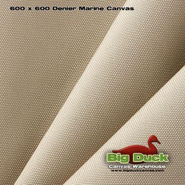 600 Denier Marine Canvas Khaki