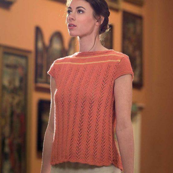Carousel de Paris by Emma Wright knit in the Fibre Co. Luma