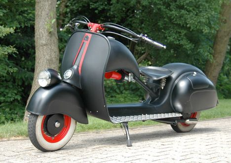 Vespa Custom Built Longhorn