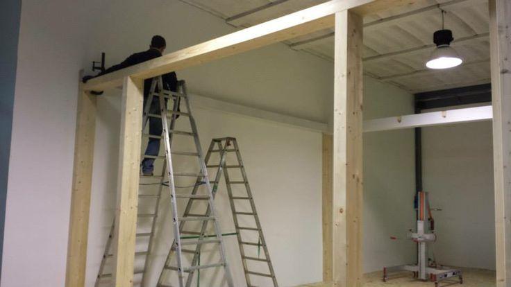 realizzazione casa in legno presso la Diemme Infissi Srl