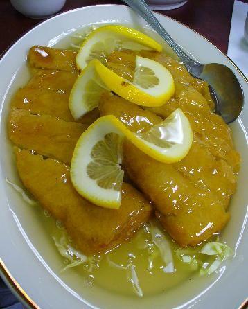 Receta de Pollo al limón de dificultad Media para 4 personas lista en 30 minutos.