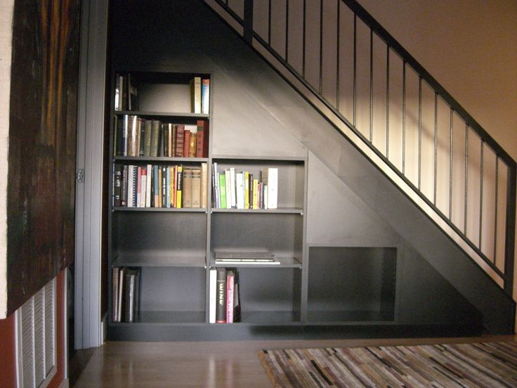 Under Stairs Shelving Unit bookcase under stairs | furniture | pinterest | storage design
