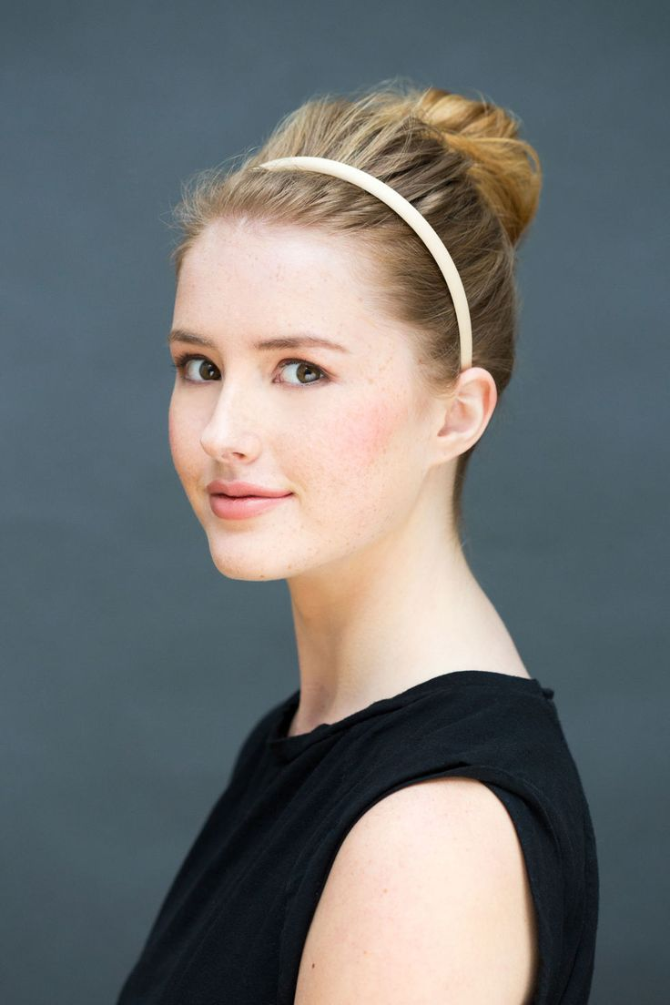 This off duty ballerina bun will make you look perfectly polished.