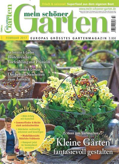 Unique Aktuelle Ausgabe Archivausgaben oder eAbo von Mein sch ner Garten bestellen und mehr ber Wohnen u Garten erfahren Lesen im Web u per App