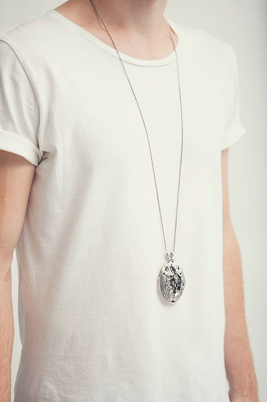 Ruin | Captve Jewellery | sterling silver | oxidized | handmade | locket | necklace | one of a kind
